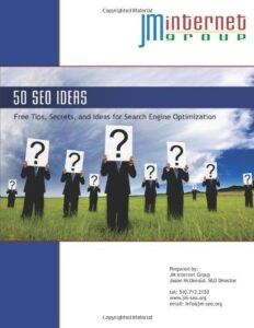 SEO Book -  Fifty SEO Ideas