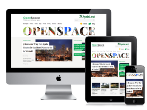 responsive web design for ayala land openspace website