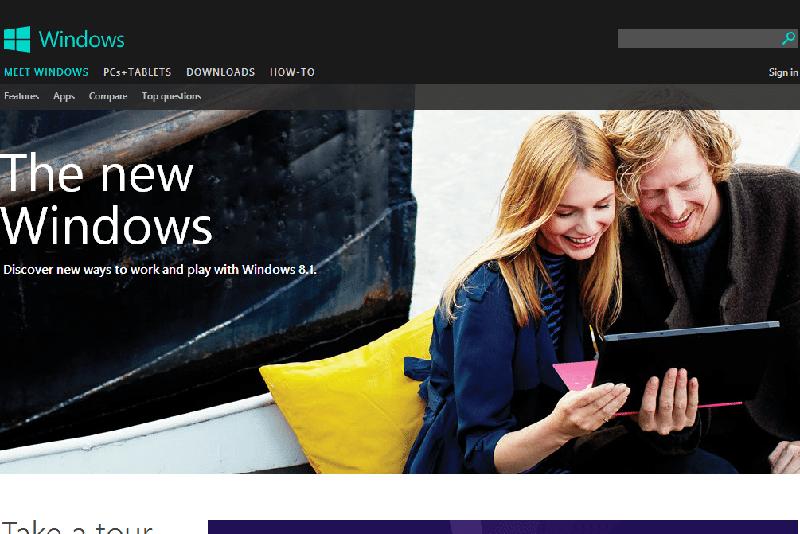 flat design minimalist web design