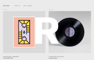 gray trend minimalist web design