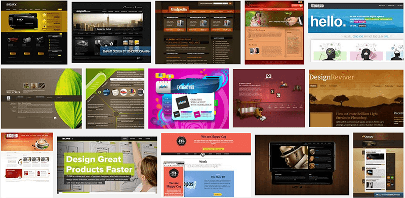Professional web design meaning
