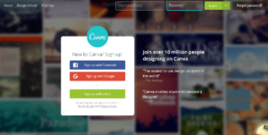 canva fullscreen form