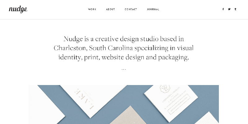 nudge minimalist design