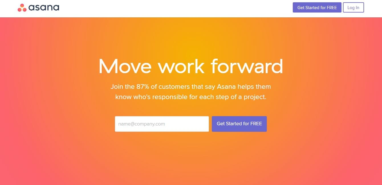 asana more brighter colors web design trends 2017 2018
