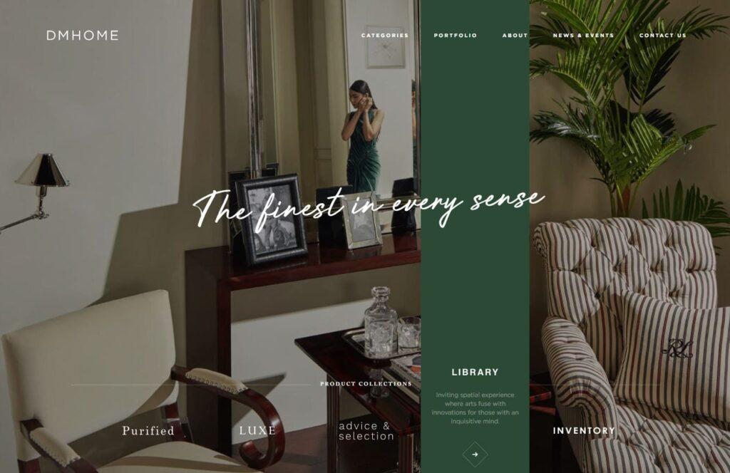 web design trends 2020 oversized typography