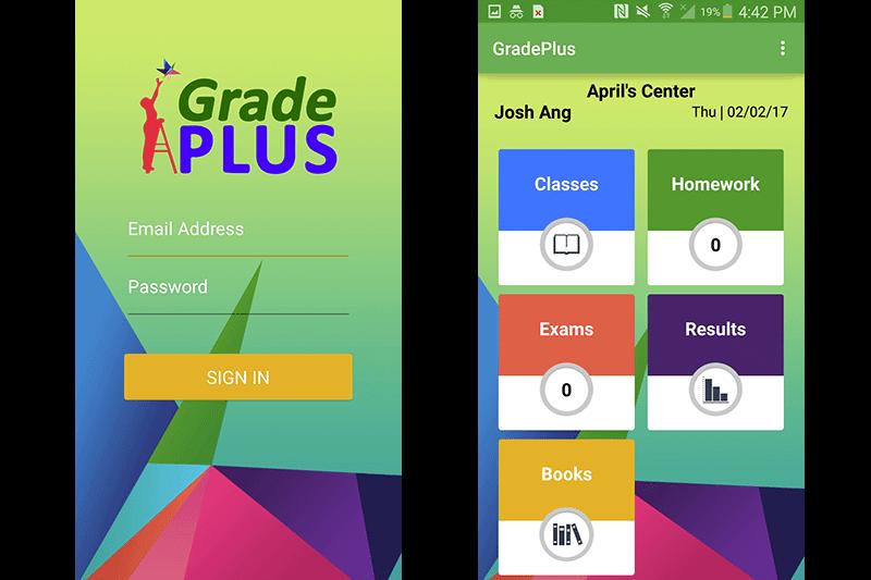 Grade Plus App