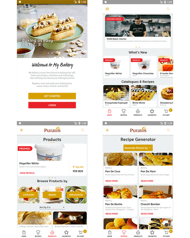 My Bakery by Puratos App